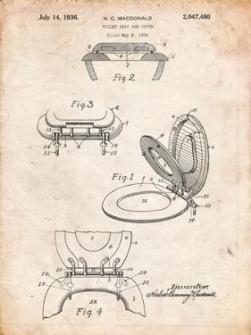 Toilet Seat Patent by Cole Borders
