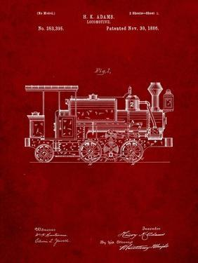 Train Locomotive Patent by Cole Borders