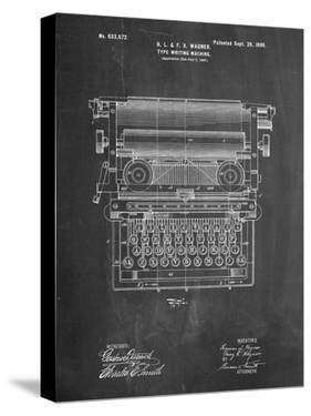 Typewriters Canvas at AllPosters com