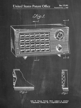 Vintage Table Radio Patent by Cole Borders