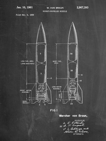 Von Braun Rocket Missile Patent by Cole Borders