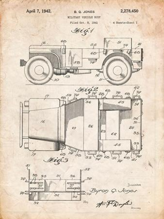 Willy's Jeep Patent by Cole Borders