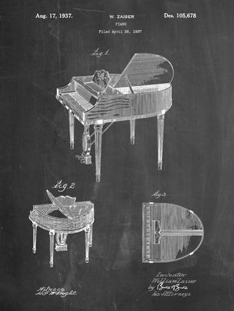 Wurlitzer Butterfly Model 235 Piano Patent by Cole Borders