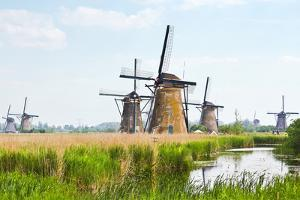 Eight from the Nineteen Windmills in Kinderdijk by Colette2