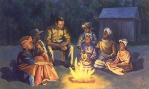 Campfire Stories, 2003 by Colin Bootman