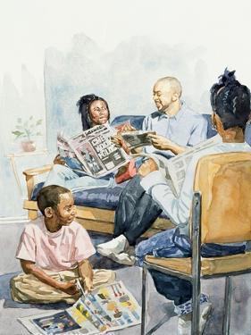 Living Room Serenades, 2003 by Colin Bootman
