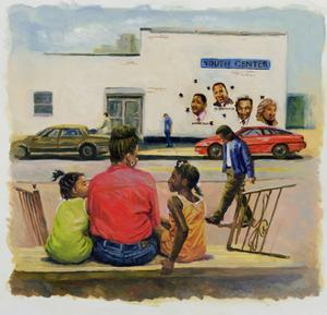 Summer City Stoop, 2000 by Colin Bootman