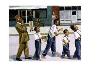 The Marching Band, 2000 by Colin Bootman