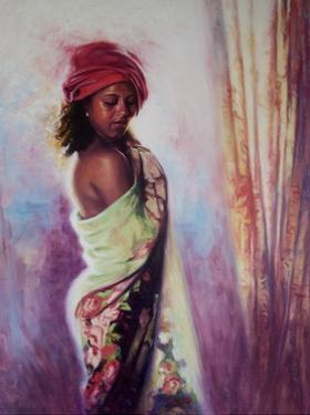 The Red Turban, 2015 by Colin Bootman