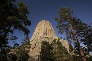 Devils Tower, Devils Tower National Monument, Wyoming, United States of America, North America by Colin Brynn