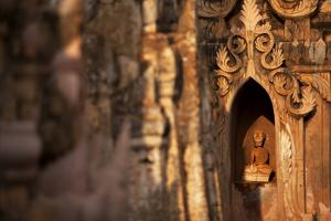 Kakku Pagoda Complex, Shan State, Myanmar (Burma), Asia by Colin Brynn