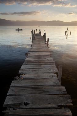 Lago Atitlan, Guatemala, Central America by Colin Brynn