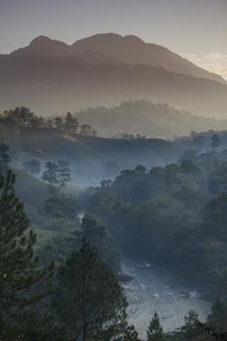 Landscape, Rio Lanquin, Lanquin, Guatemala, Central America by Colin Brynn