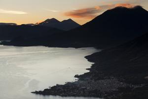 Landscape, San Pedro, Lago Atitlan, Guatemala, Central America by Colin Brynn