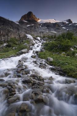 Landscape, Slalok Mountain, Joffre Lakes Provincial Park, British Columbia, Canada, North America by Colin Brynn