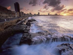 Malecon, Havana, Cuba, West Indies, Central America by Colin Brynn