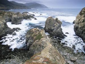 Rocks, Big Sur Coast, California, United States of America, North America by Colin Brynn