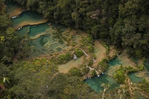Semuc Champey Waterfalls, Guatemala, Central America by Colin Brynn