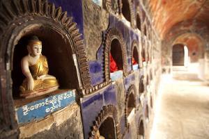 Shwe Yan Pyay Monestary, Nyaungshwe, Inle Lake, Myanamar (Burma), Asia by Colin Brynn