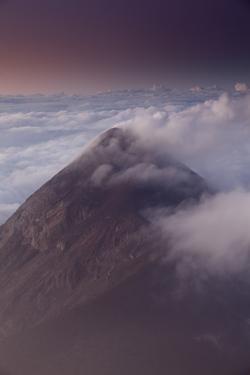 Volcan Fuego, Guatemala, Central America by Colin Brynn