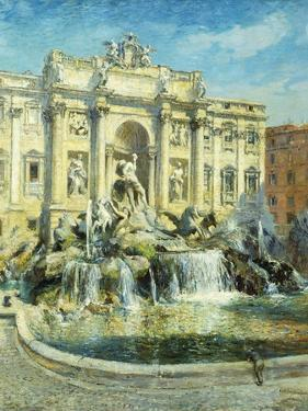 Trevi Fountain, Rome by Colin Campbell Cooper