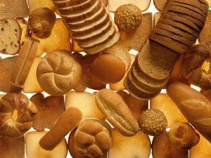 Many Breads, Rolls and Sweet Pastries by Colin Erricson