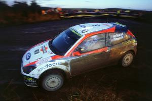 Colin McRae in Ford Focus RS WRC, Network Q rally2002