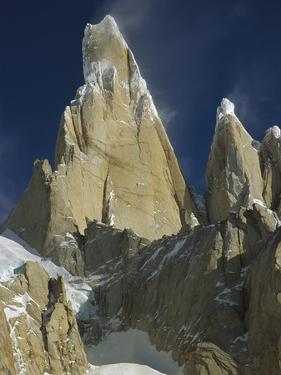 East Face of Cerro Torre, Los Glaciares National Park, Patagonia, Argentina by Colin Monteath/Minden Pictures