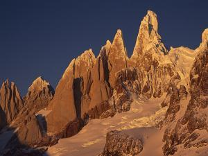 West Face of Cerro Torre, Los Glaciares National Park, Patagonia, Argentina and Chile Border by Colin Monteath/Minden Pictures