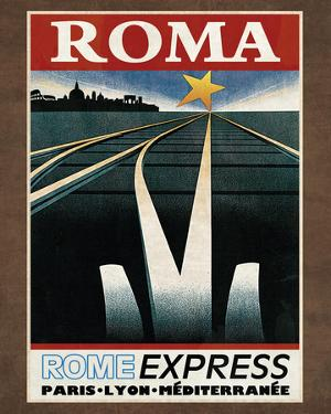 Train Roma by Collection Caprice