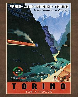 Train Torino by Collection Caprice