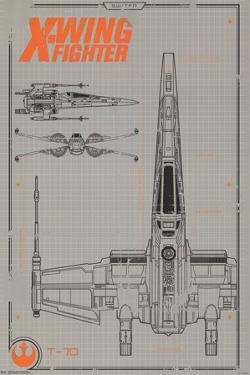 X wing starfighter posters for sale at allposters collector star wars the force awakens x wing malvernweather Gallery