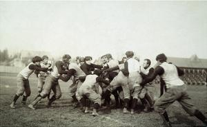 College Football Game, 1905