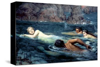 A Race with Mermaids and Tritons