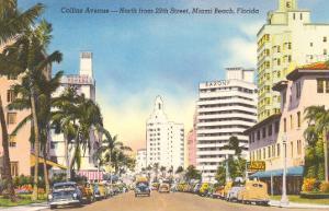 Collins Avenue, Miami Beach, Florida