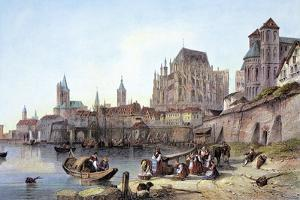 Cologne on the Rhine, 1840, Germany