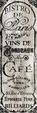 Paris Bistro I by Color Bakery