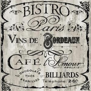 Paris Bistro III by Color Bakery