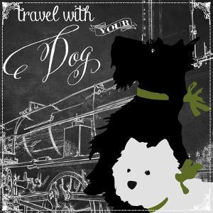 Travel with Your Dog by Color Bakery