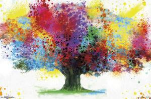 COLOR BURSTING TREE