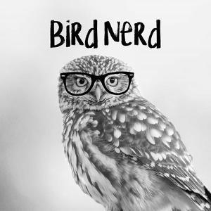 Bird Nerd - Owl by Color Me Happy