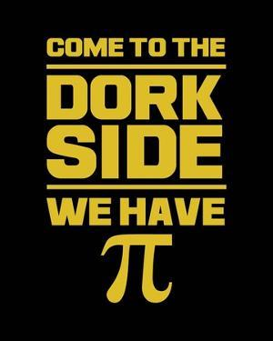 Come To The Dork Side Black by Color Me Happy