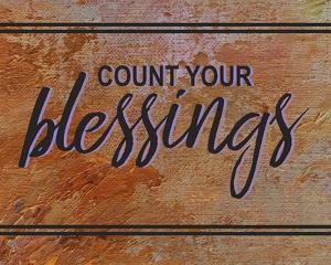 Count Your Blessing-Brown by Color Me Happy