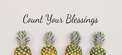 Count Your Blessings Pineapples by Color Me Happy