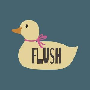 Duck Family Girl Flush by Color Me Happy