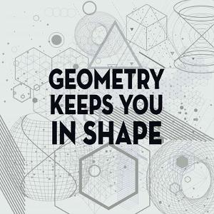 Geometry Keeps You In Shape Light Pattern by Color Me Happy