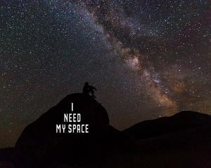 I Need My Space - Color by Color Me Happy