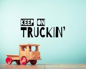 Keep On Truckin' Blue by Color Me Happy