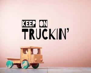 Keep On Truckin' Brown by Color Me Happy