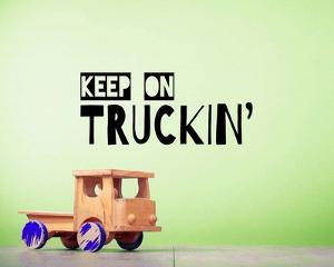 Keep On Truckin' Green by Color Me Happy